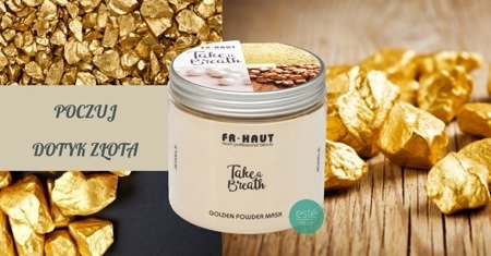 Golden Powder Mask- maska ze złotem 495g
